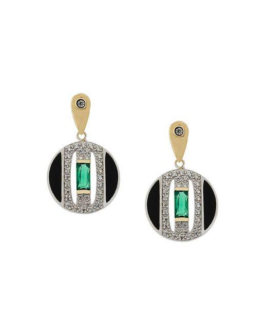 V Jewellery | Metallic Daphne Earrings | Lyst
