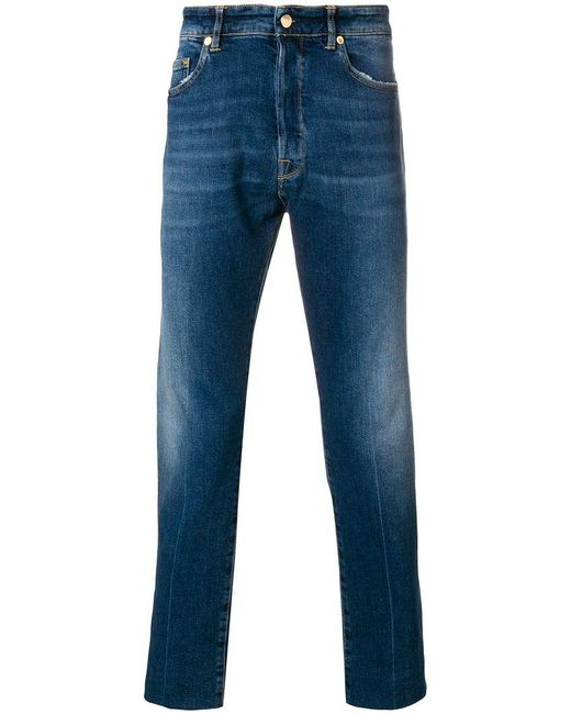 Golden Goose Deluxe Brand - Blue Five Pocket Jeans for Men - Lyst