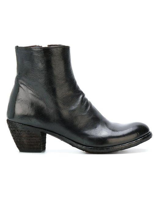 Officine Creative - Black Godard Zipped Boots - Lyst