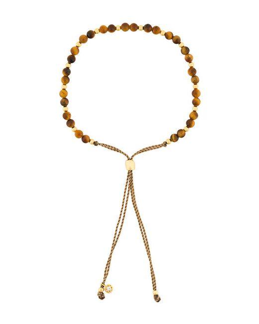 Astley Clarke - Brown Beaded Skinny Bracelet - Lyst
