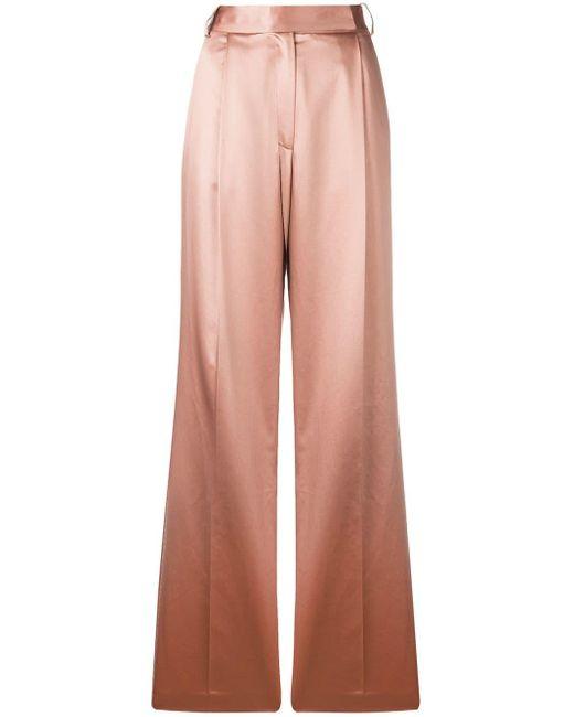 Partow - Pink Pantalones de talle alto - Lyst