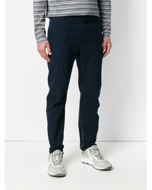 ruched detail trousers - Blue Lanvin Uh3Zhn0O