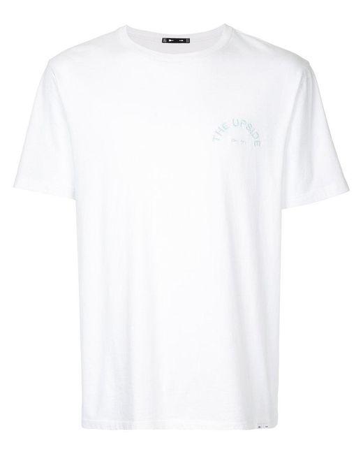The Upside - White Crew Neck T-shirt for Men - Lyst