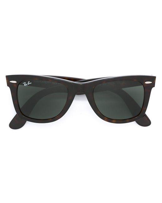 Ray-Ban   Brown - Wayfarer Sunglasses - Unisex - Acetate - One Size   Lyst