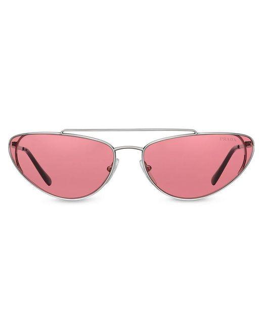 e7814161def10 Prada - Metallic Ultravox Sunglasses - Lyst ...