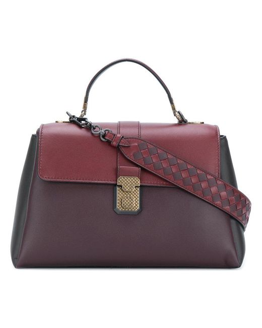 Bottega Veneta - Red Piazza Tote Bag - Lyst