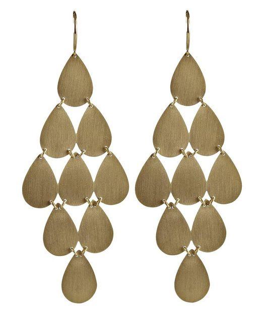 Irene Neuwirth - Metallic 18kt Yellow Gold Chandelier Earrings - Lyst