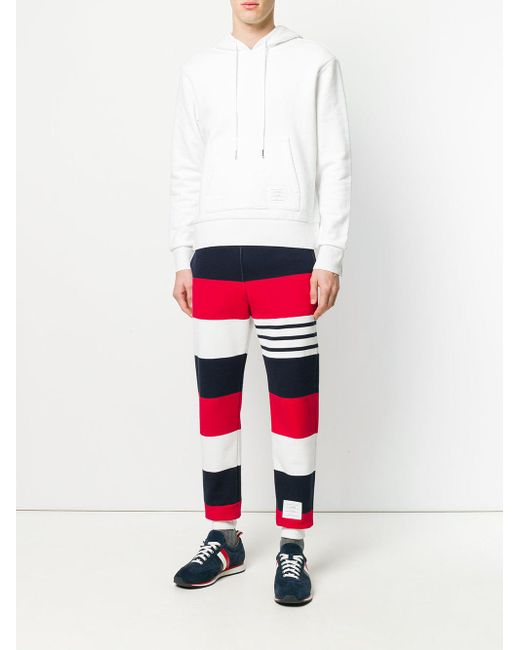 Engineered Rugby Stripe Classic Loopback Jersey Sweatpants - Multicolour Thom Browne Visit New For Sale Discount Deals 4UqgtrN