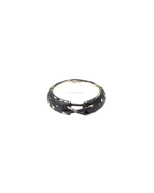 Tobias Wistisen | Metallic 'narrow Stitch' Ring for Men | Lyst