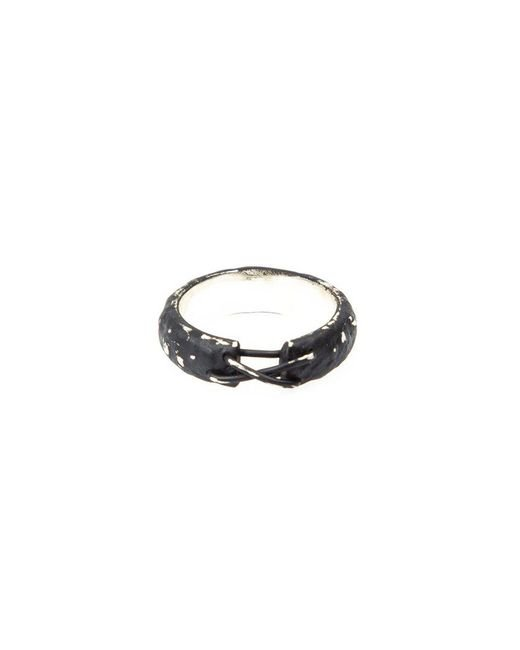 Tobias Wistisen | Metallic 'narrow Stitch' Ring for Men | Lyst