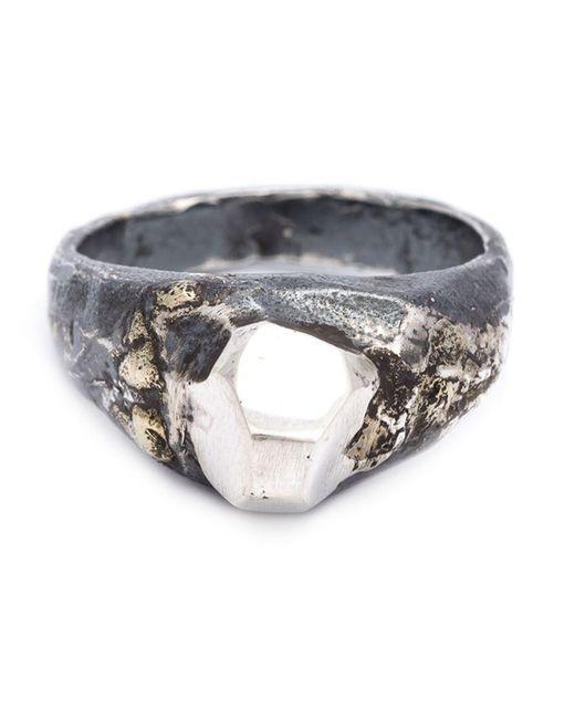 Lee Brennan Design - White Celtic Ornament Ring - Lyst