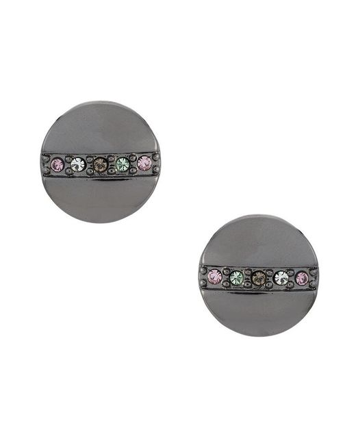 Camila Klein - Gray Earrings And Ring Set - Lyst