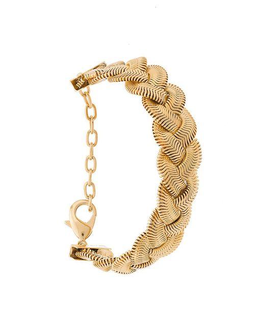 Janis Savitt - Metallic Braid Bracelet - Lyst