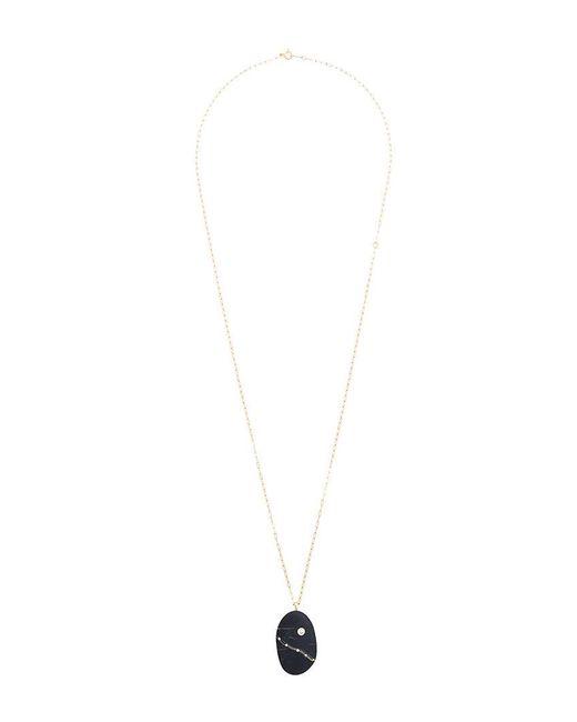 Cvc Stones - Metallic Ischia Diamond Pebble Necklace - Lyst