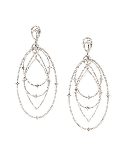 Loree Rodkin - White Spherical Star Drop Diamond Earrings - Lyst