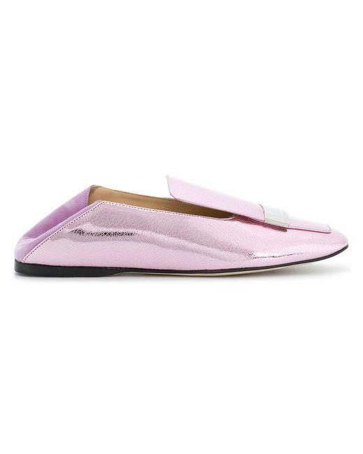 loafer skate shoes - Pink & Purple Sergio Rossi XlyGUzjG7