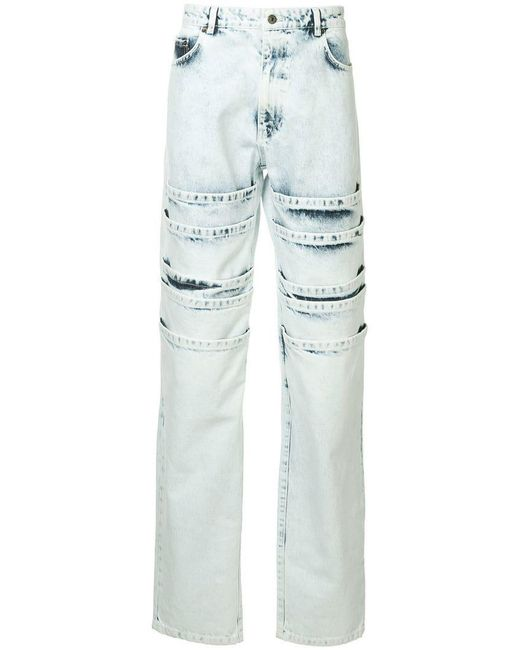 Y. Project - Blue Layered Jeans for Men - Lyst