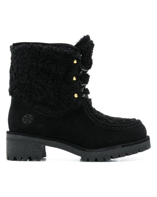 Tory Burch - Black Ankle Boots - Lyst