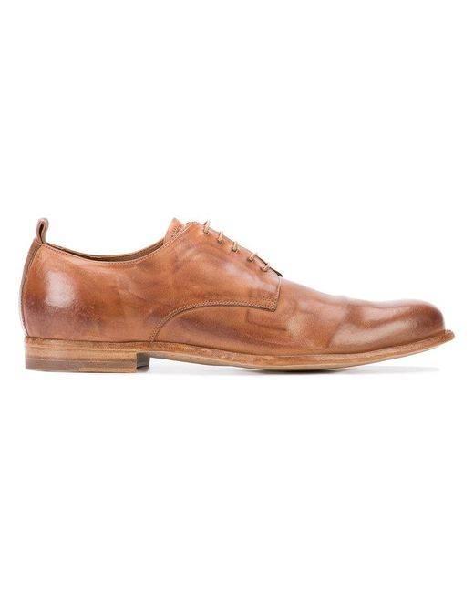 Officine Creative | Brown Mono 1 Derby Shoes for Men | Lyst