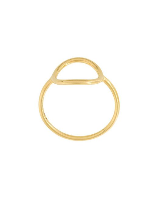 Maria Black - Metallic 'monocle' Ring - Lyst