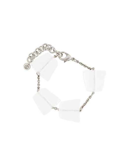 MM6 by Maison Martin Margiela | Metallic Ice Cubes Bracelet | Lyst