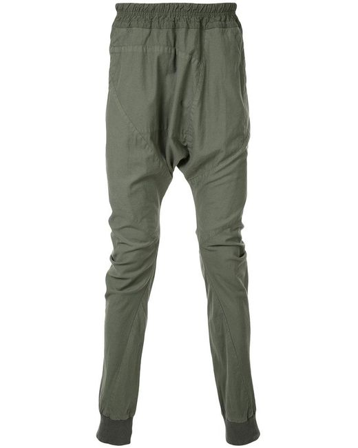 Julius - Green Loose Fit Drop-crotch Trousers for Men - Lyst