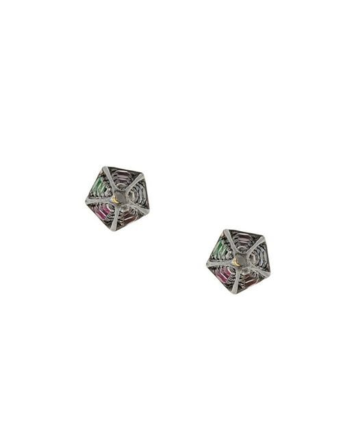 Noor Fares - Multicolor Cone Stud Earrings - Lyst