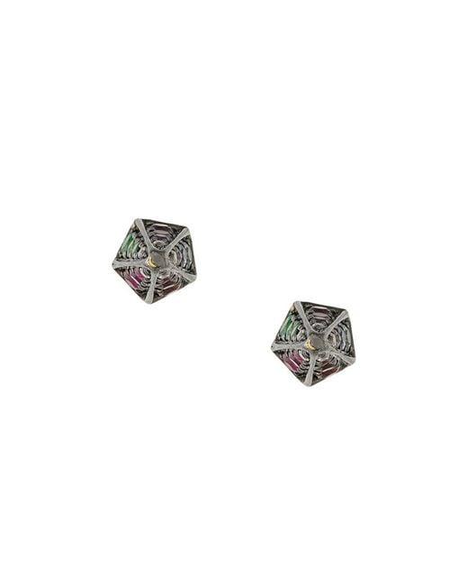 Noor Fares | Multicolor Cone Stud Earrings | Lyst