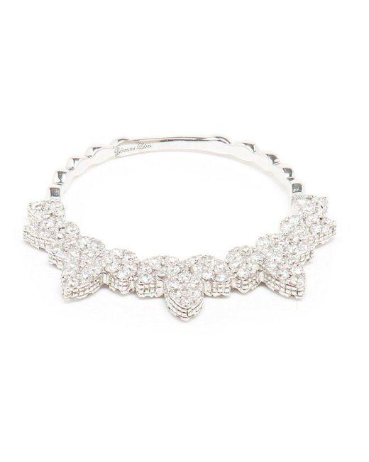 Yvonne Léon | Metallic Spiked Diamond Ring | Lyst