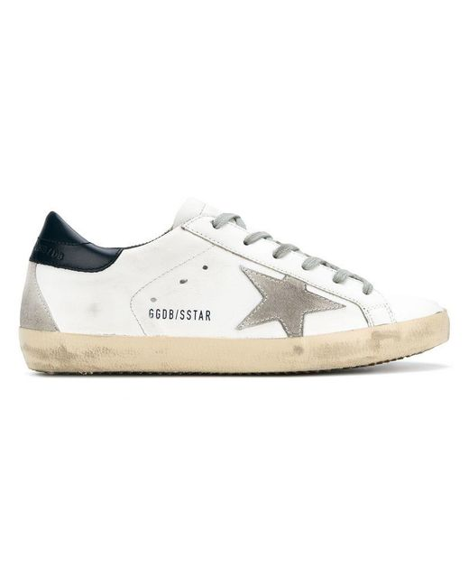 Golden Goose Deluxe Brand - White Superstar Sneakers - Lyst