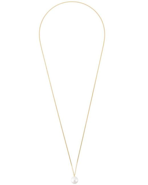 Wouters & Hendrix | Metallic Pearl Long Necklace | Lyst