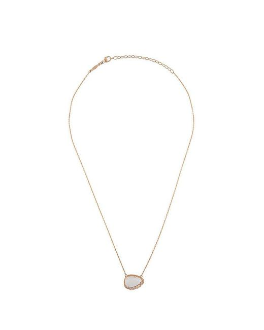 Jacquie Aiche - White 'graduated' Necklace - Lyst