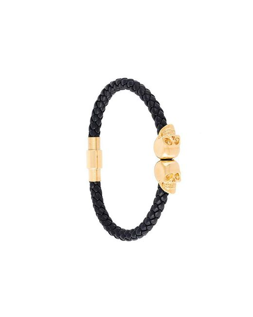 Northskull - Black Skull Bracelet for Men - Lyst