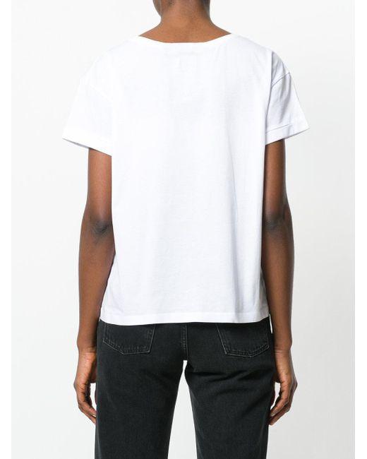 T Lyst Boxy Cerrado Shirt blanco recortado wRtCxqOB