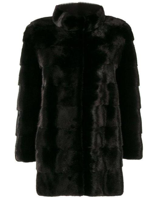 Cara Mila - Black Mila Coat - Lyst