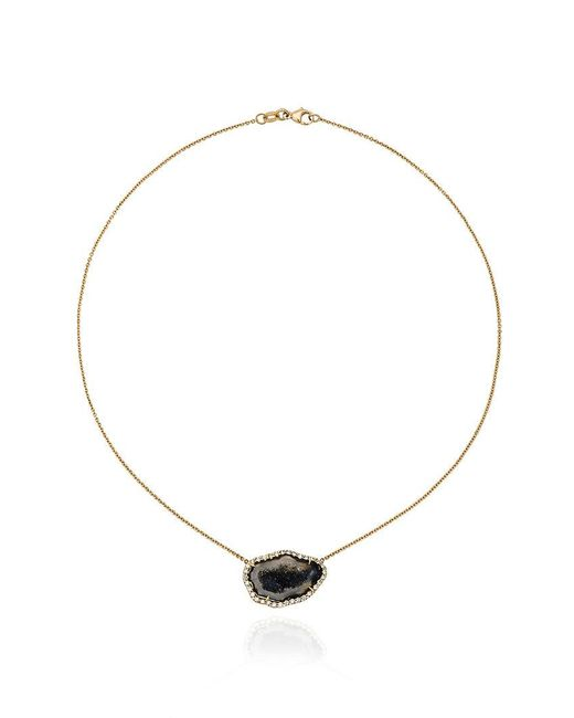 Kimberly Mcdonald | Metallic Geode Diamond Necklace | Lyst