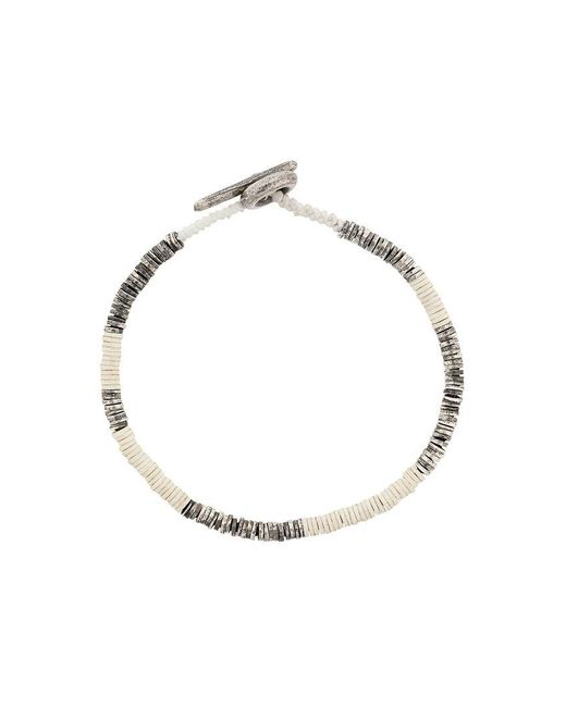 M. Cohen - White Beaded Bracelet - Lyst