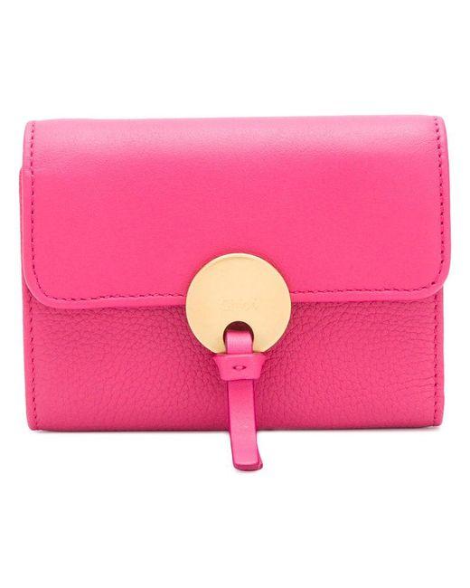 Chloé - Pink Faye Wallet - Lyst