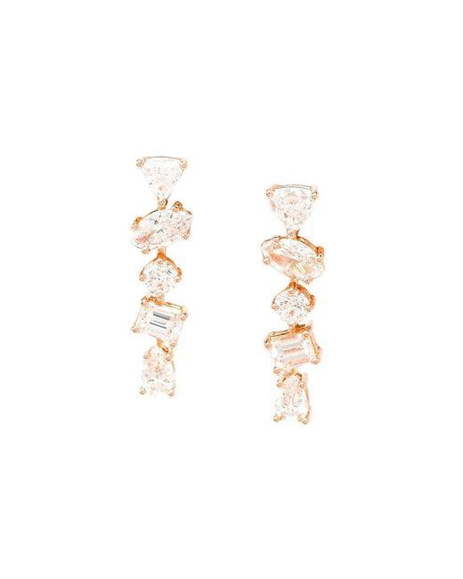 Kimberly Mcdonald - Metallic 18k Rose Gold Diamond Stud Earrings - Lyst