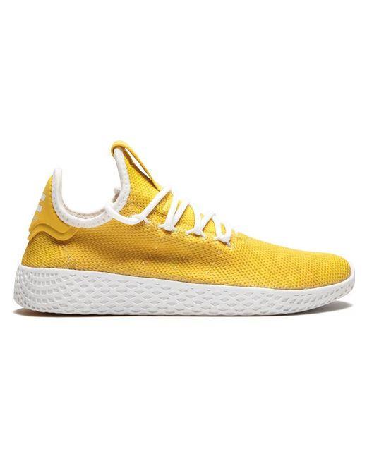 660f56f9af923 Lyst - adidas Pw Hu Holi Tennis in Yellow for Men - Save 67%