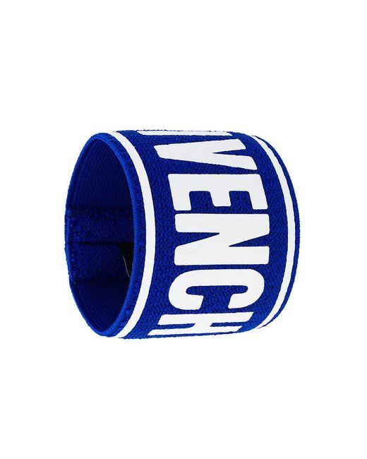 Givenchy - Blue Tennis Sweatband Cuff - Lyst