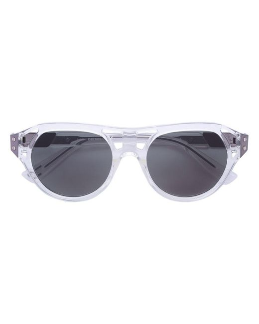 DIESEL | White Dl0233 Sunglasses | Lyst