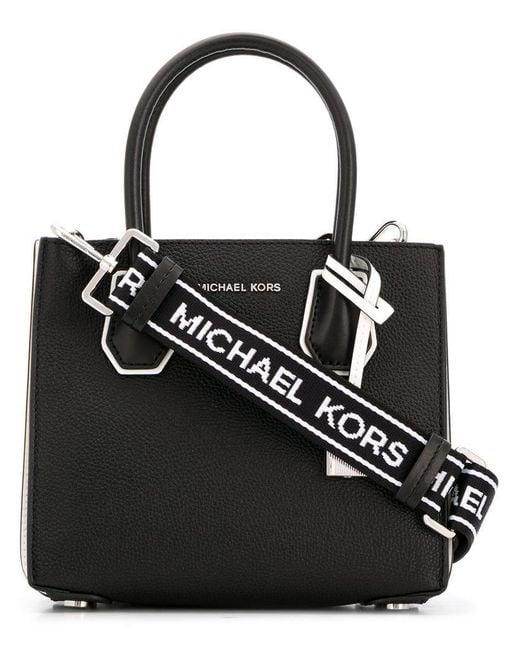 MICHAEL Michael Kors - Black Mercer Tote Bag - Lyst ... ae14d9ee4
