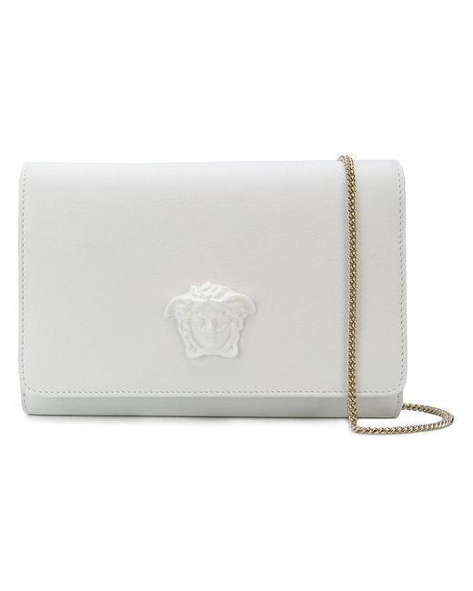 Versace - White Medusa Clutch Bag - Lyst