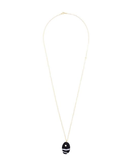 Cvc Stones   Metallic Bruca Pebble Necklace   Lyst