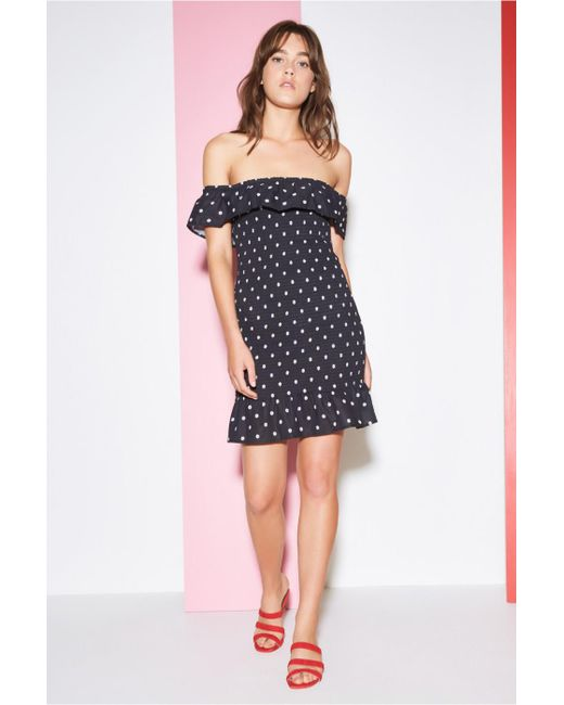 The Fifth Label - Black Fiesta Dress - Lyst