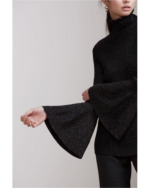 Keepsake   Black Element Long Sleeve Knit Top   Lyst