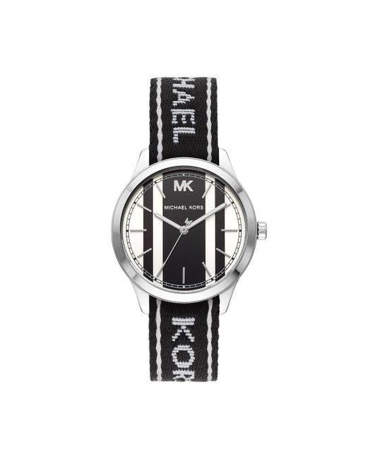 781a63076c92 Michael Kors - Metallic Mk2795 Runway Watch - Lyst ...