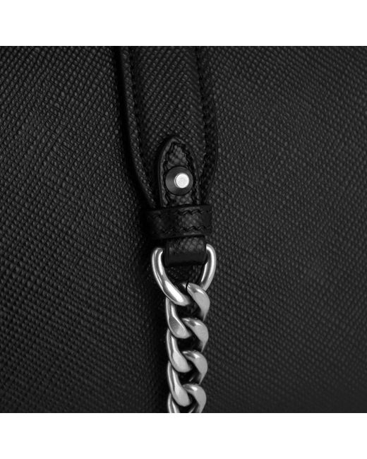 6aa7065c298f0 Prada Monochrome Crossbody Bag Medium Nero in Black - Save 28% - Lyst