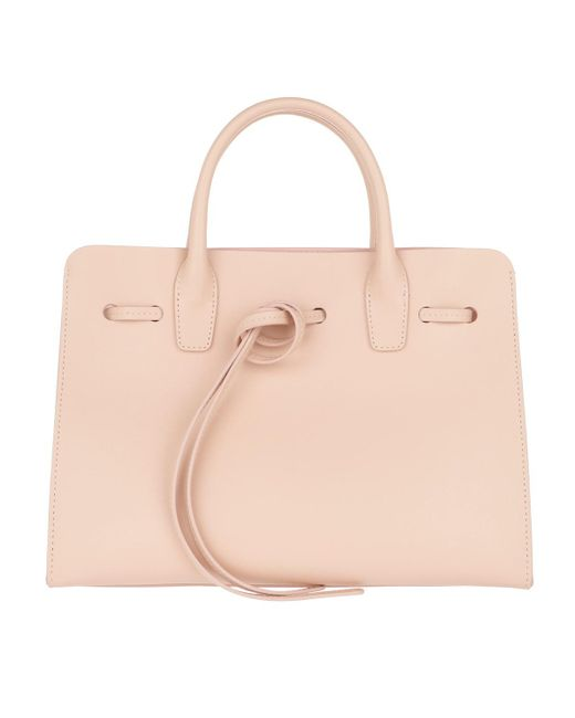 Mansur Gavriel - Pink Tie Fastening Tote Leather Rosa/rosa - Lyst